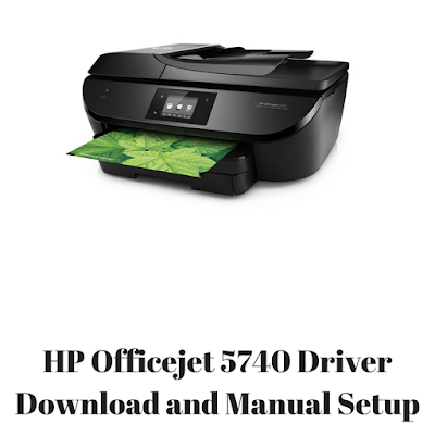 HP Officejet 5740 Driver Download and Manual Setup