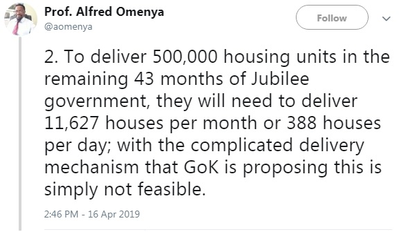 2 - Kenyan Professor breaks down the #HousingFundLevy and reveals how UHURU intends to steal from Kenyans
