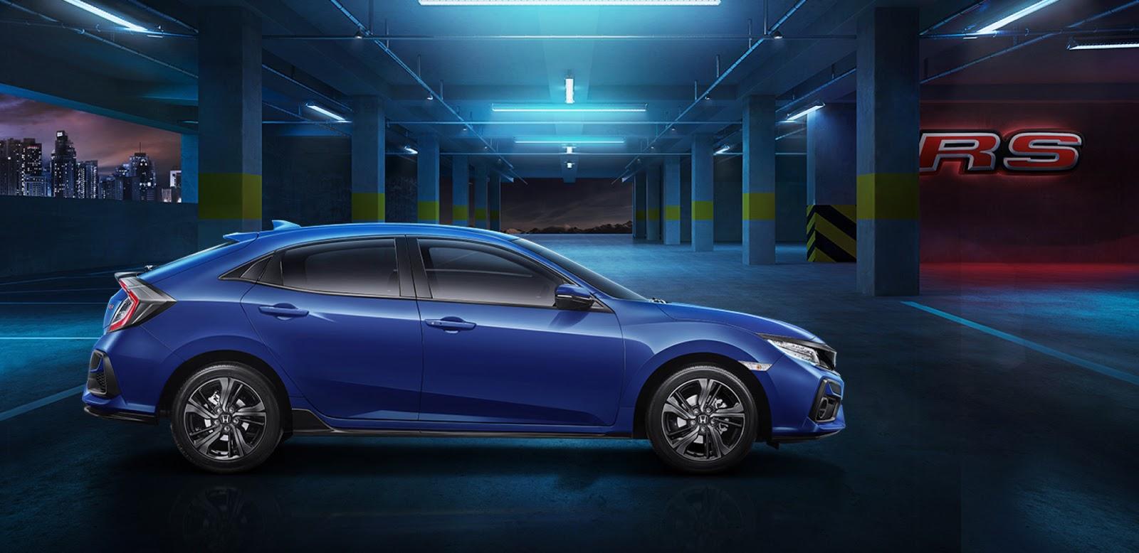 Honda ciciv hatchback rs 2020