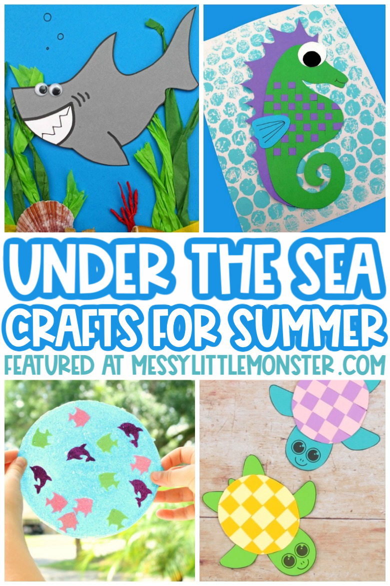 Under the sea crafts for summer