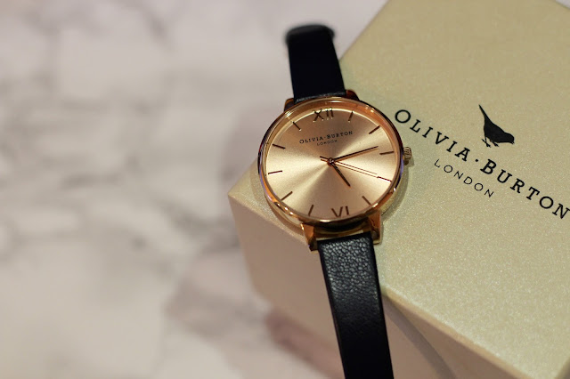 Olivia Burton Rose Gold Big Dial Watch