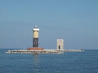 Il faro all'estremità sud e la Torre