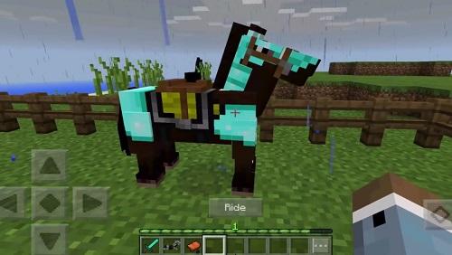 """Horse là Mob """"tự nhiên"""" rất là có ích"""