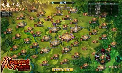 แผนที่เกมสามก๊ก Kingdoms Fighter