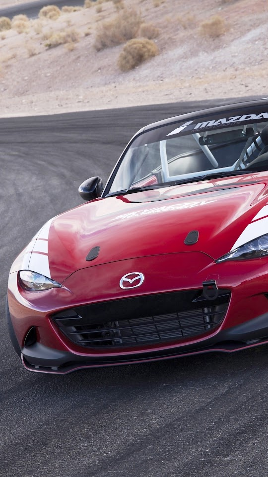 Mazda Global MX-5 Cup Racecar 2016 Galaxy Note HD Wallpaper
