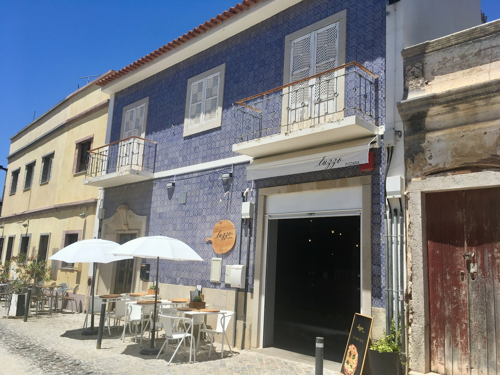 Pizza restaurants in Tavira, Portugal