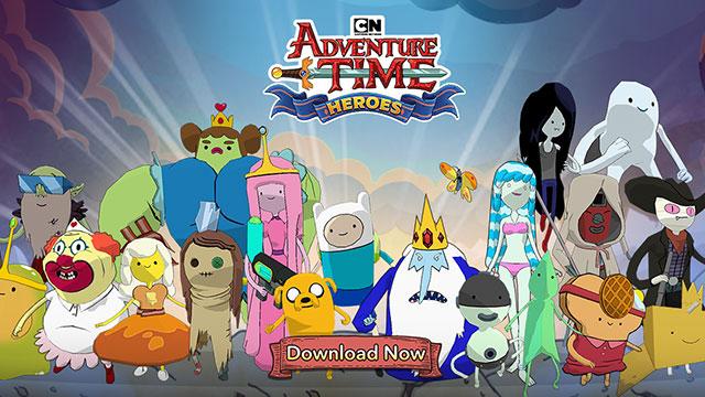 CN Adventure Time Heroes