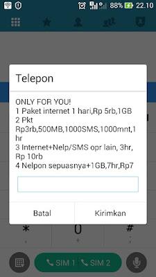 daftar paket internet only for you im3 indosat ooredoo