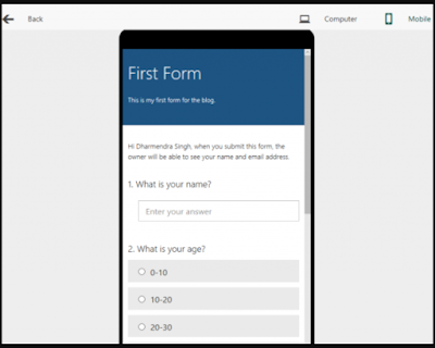Panduan Microsoft Form 9