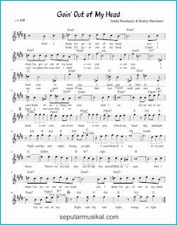 chord goin' out of my head lagu jazz standar