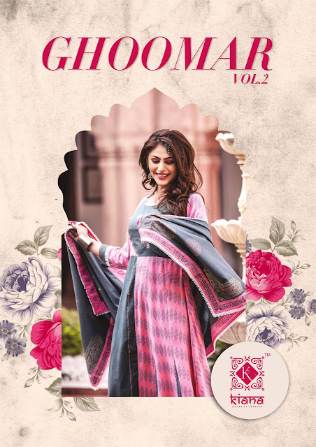 Kiana Ghoomer vol 2 Anarkali Ethnic Gown