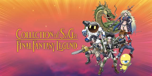 COLLECTION of SaGa FINAL FANTASY LEGEND™ llegará a Nintendo Switch el 15 de diciembre