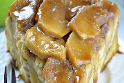 Upside Down Apple Cinnamon Roll Cake #desserts #sweets