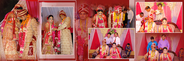 Indian Wedding Album Design and Collage