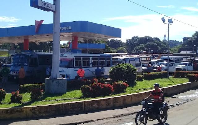Gobernación de Amazonas realiza prueba del chip para la venta de combustible