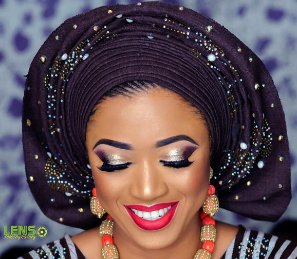 beautiful nigerian bride