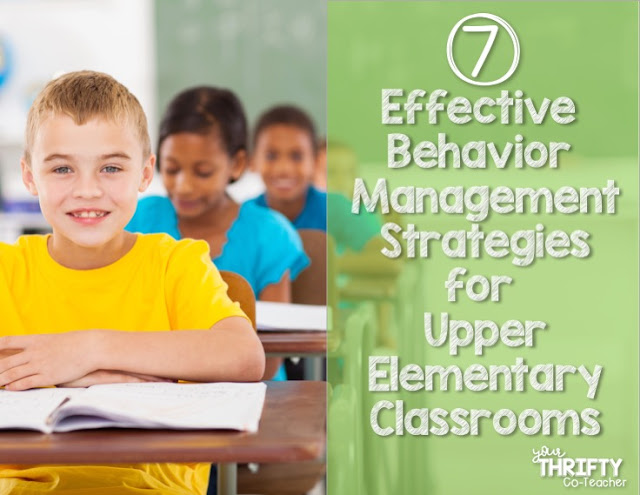 Elementary Classroom Management Techniques ~ Effective behavior management strategies for upper