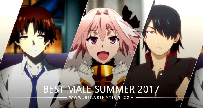 7 Karakter Anime Pria Terbaik Musim Panas (Summer) 2017 Pilihan Hikari Nation