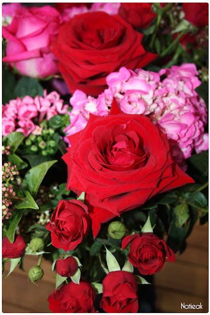 bouquet saint valentin interflora et Chantal Thomass