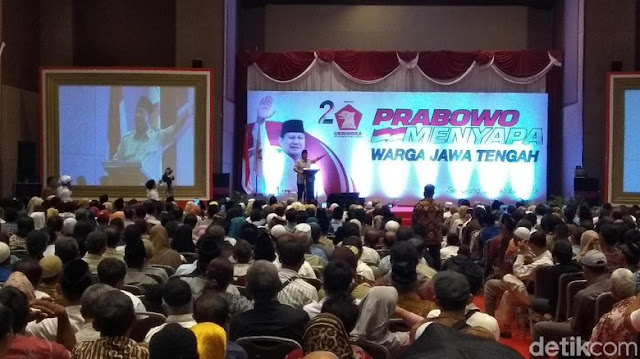 Prabowo Ingatkan Masyarakat soal Bahaya Hantu di Pemilu 2019