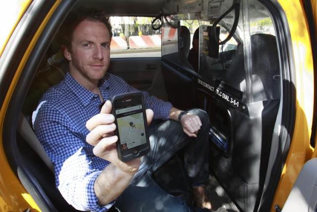 cab booking mobile app