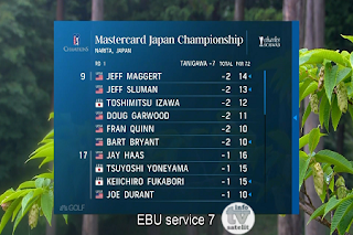 PGA Tour Mastercard Japan Championship AsiaSat 5 Biss Key 12 June 2019