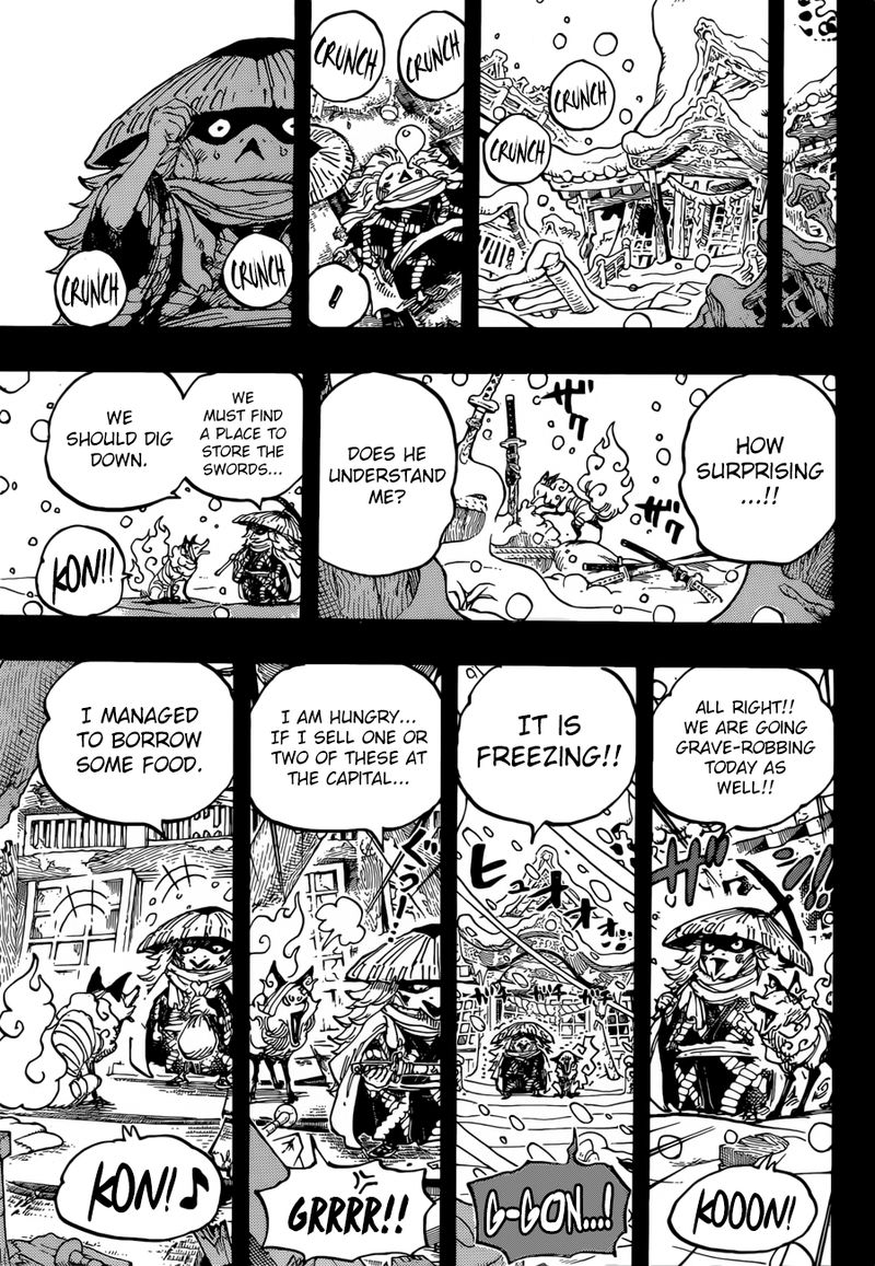 One Piece Manga Chapter 953 - Image 012