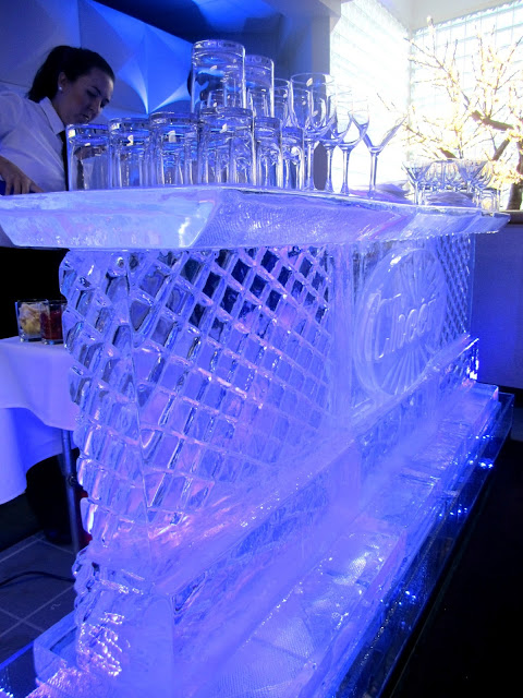 Shane Co Sapphire Event Ice Bar