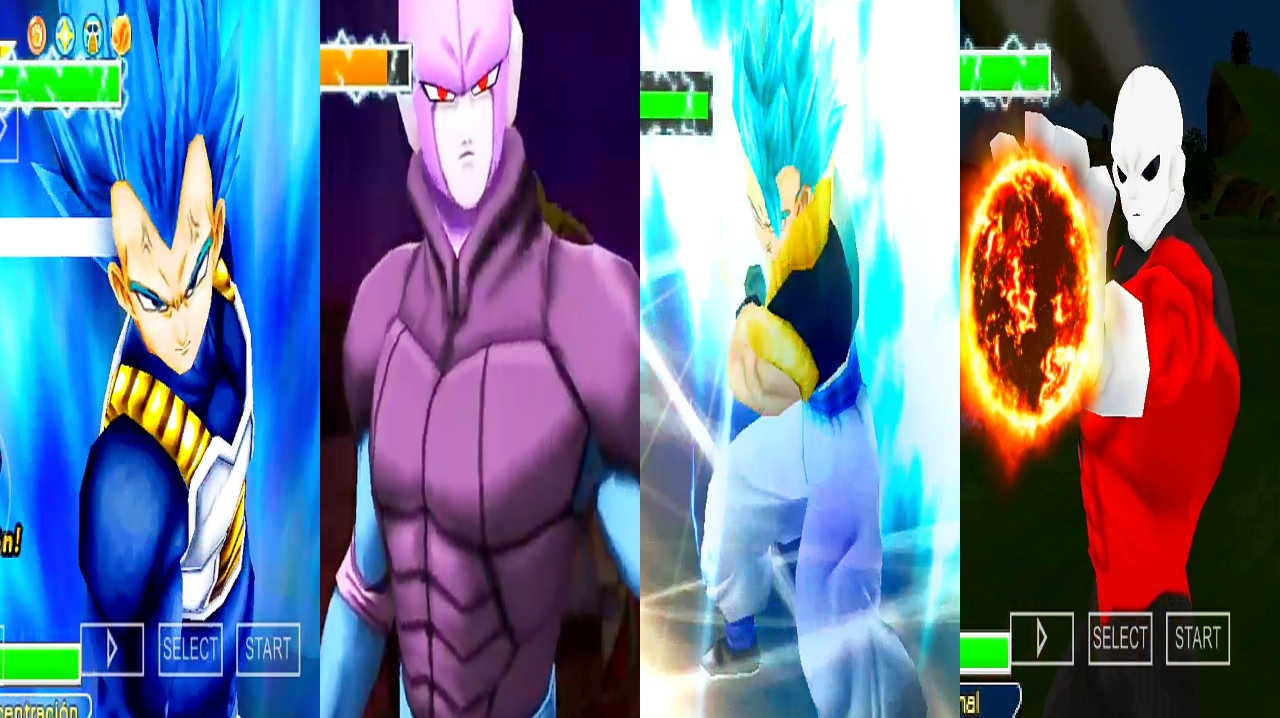 DBZ TTT MOD Download Hit and Jiren