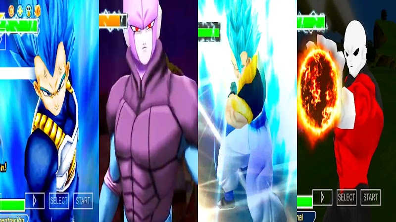 DBZ Android Game Tenkaichi Tag Team Mod PSP ISO Download