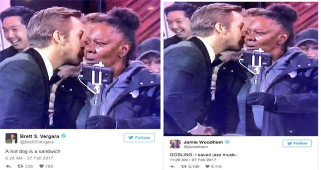 """Whispering Ryan Gosling"" The Meme We Come Out Of The Oscars 2017."