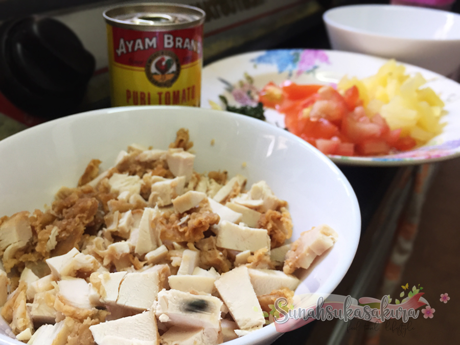 Resepi Quesadillas Ayam KFC - Sedap Sangat!