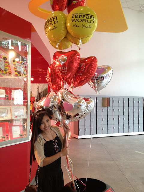 I love the Ferrari World Ballons