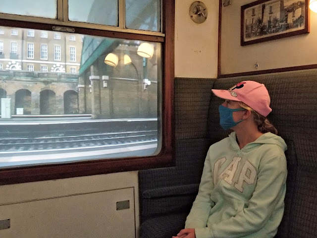 harry potter train ride