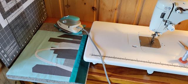 Vacation sewing