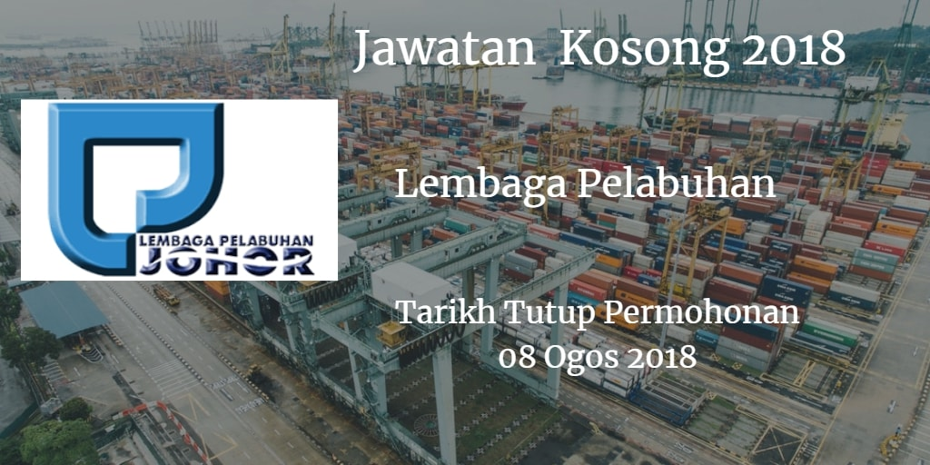 Jawatan Kosong LPJ 08 POgos 2018