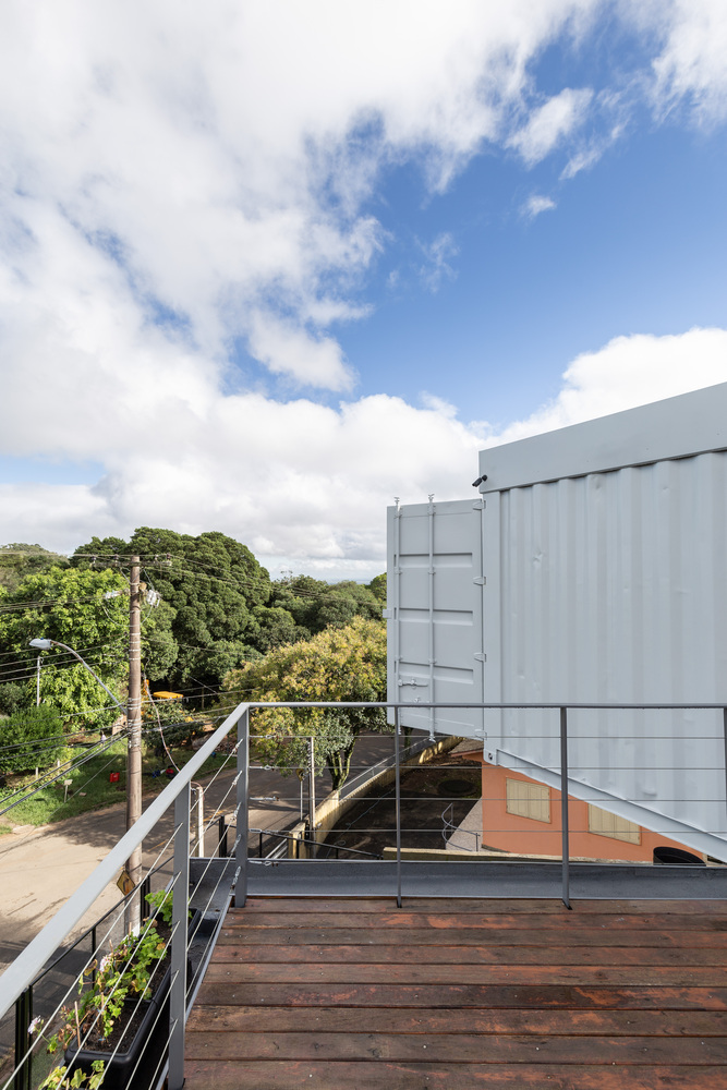 Casa Conteiner RD - 350 sqm Two Story Shipping Container Home, Brazil 12