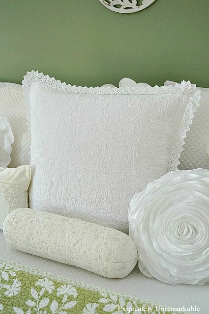 White Pillows In The Bedroom