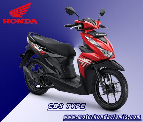 Brosur Kredit Motor Honda Beat Ciamis