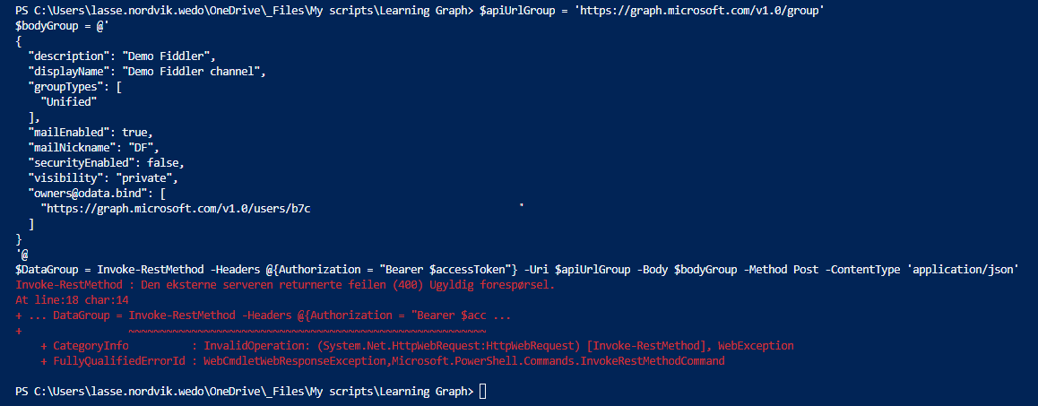 UC - From my point of view: Troubleshooting Powershell and