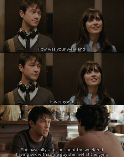 500 days of summer film essay (500) days of summer analysis  the film starts off on what turns out to  which is the last day he sees summer (deshanel) in the 500 days that mark.
