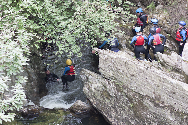 #flearetreat gorge walking
