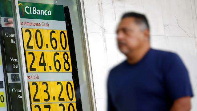 El peso mexicano sufre una nueva caída histórica tras el anuncio del plan económico para enfrentar crisis del coronavirus