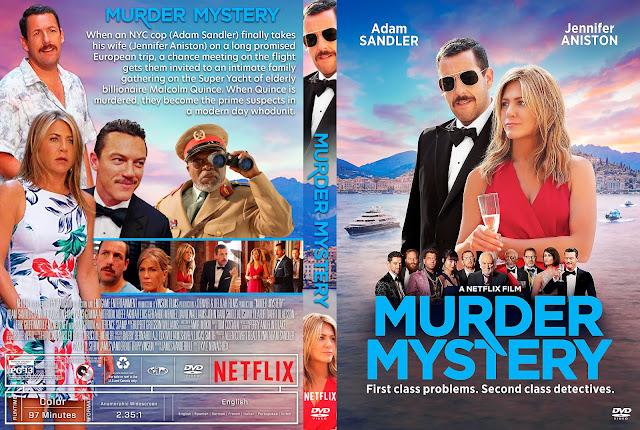 Murder Mystery DVD Cover