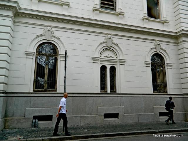 Rua Roberto Simonsen, caminho entre o Solar da Marquesa e o Pátio do Colégio
