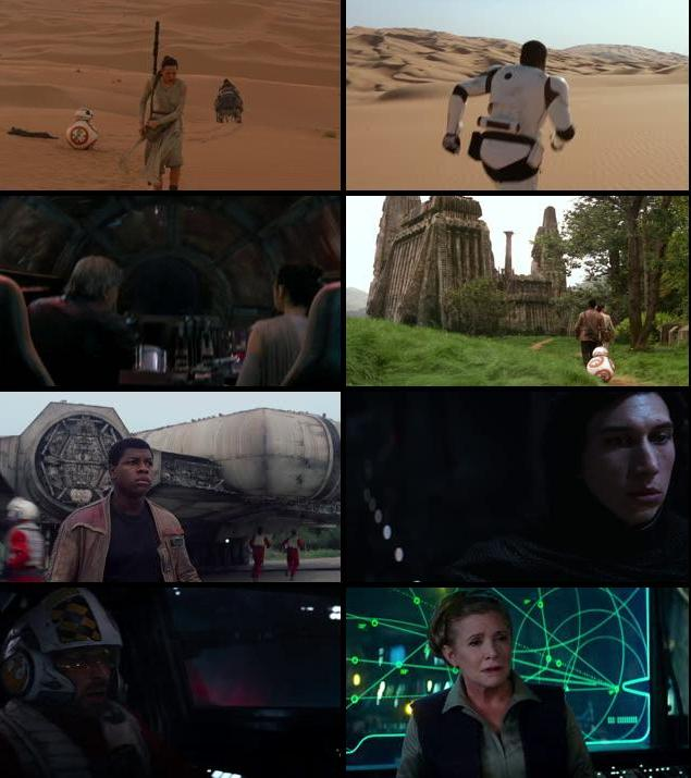 Star Wars The Force Awakens 2015 English 720p BRRip