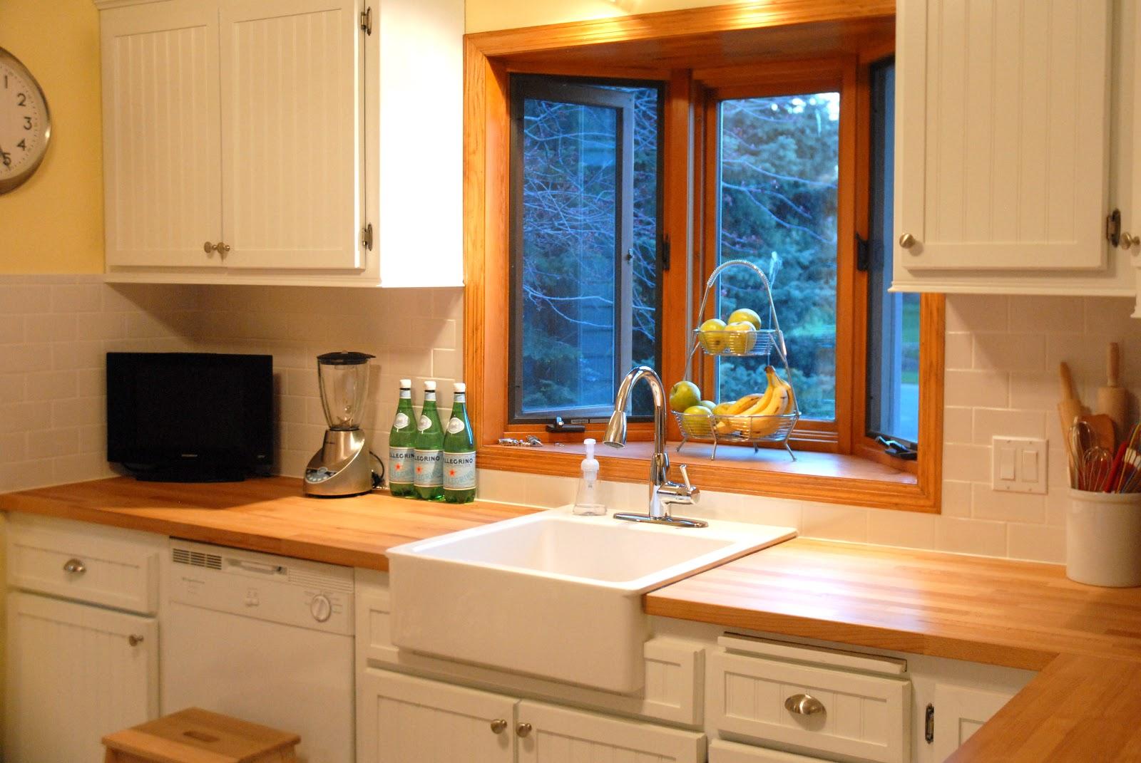 Good Backsplash Ideas For Butcher Block Countertops Part - 11: ... Remodelaholic | House Envy Kitchen Remodel Reveal! On Diy Inexpensive Countertop  Ideas, Butcher Block ...