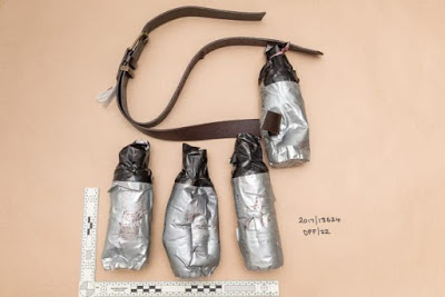 Metropolitan Police release images of fake explosive belts won by London Bridge attackers