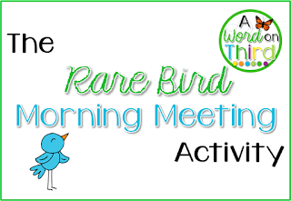 1 Activity That Will Revive Your Morning Meetings by A Word On Third