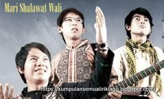 Lagu Mari Shalawat Wali